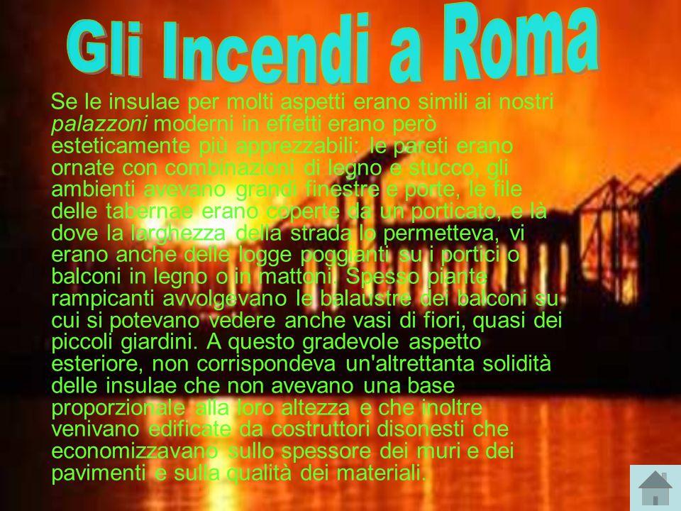 Gli Incendi a Roma
