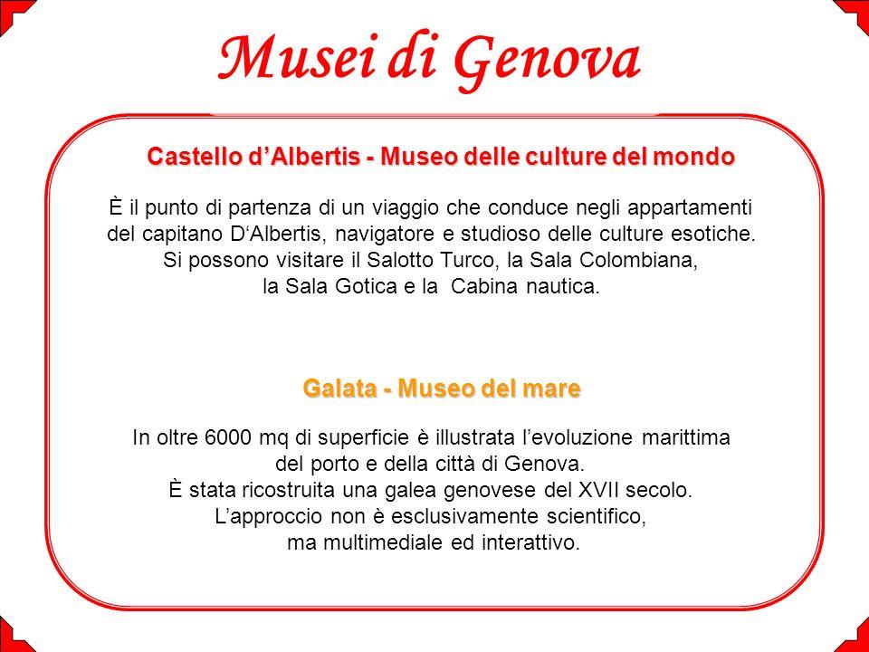 Musei di Genova Castello d'Albertis - Museo delle culture del mondo