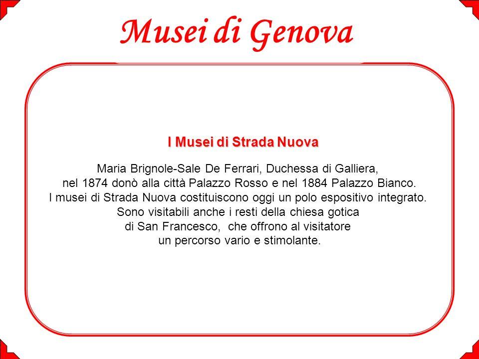 Musei di Genova I Musei di Strada Nuova