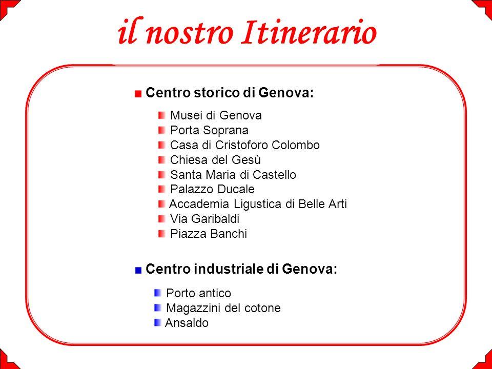 il nostro Itinerario Centro storico di Genova: Musei di Genova