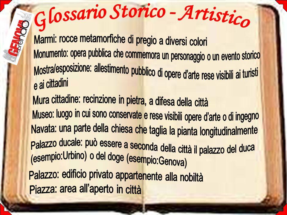 Glossario Storico - Artistico