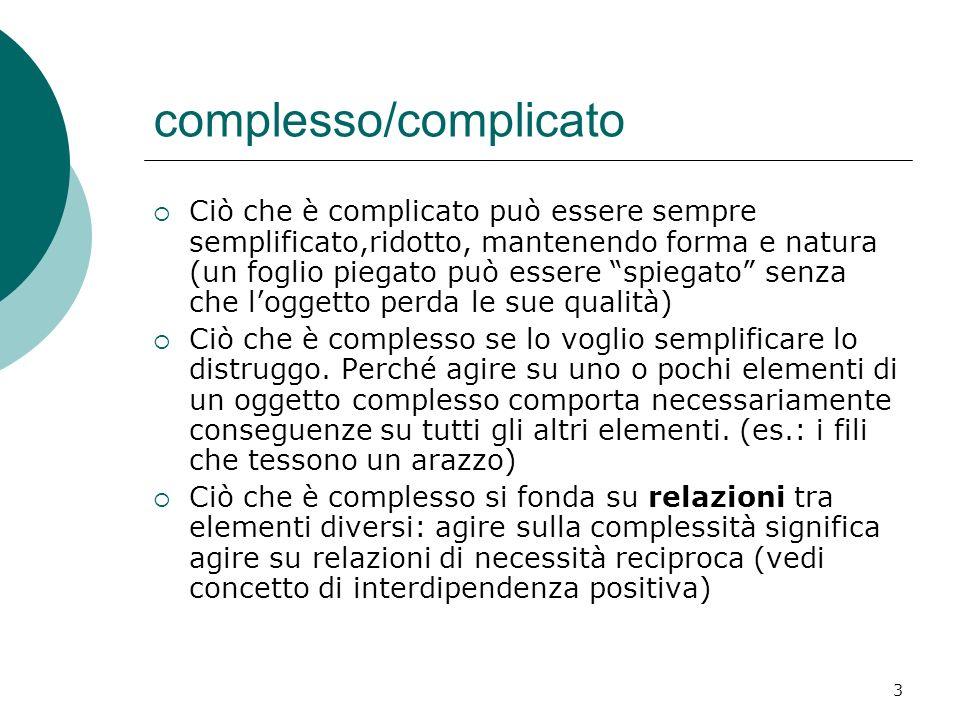 complesso/complicato