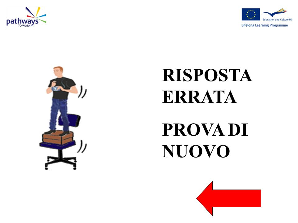 Wrong Question 5 RISPOSTA ERRATA PROVA DI NUOVO