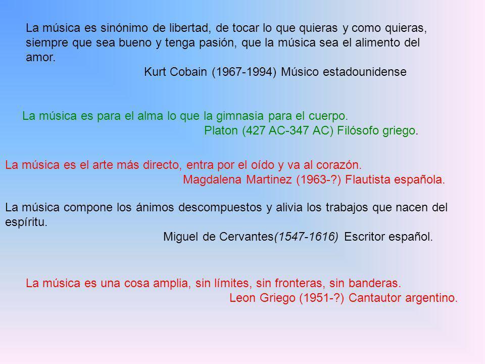 Kurt Cobain (1967-1994) Músico estadounidense