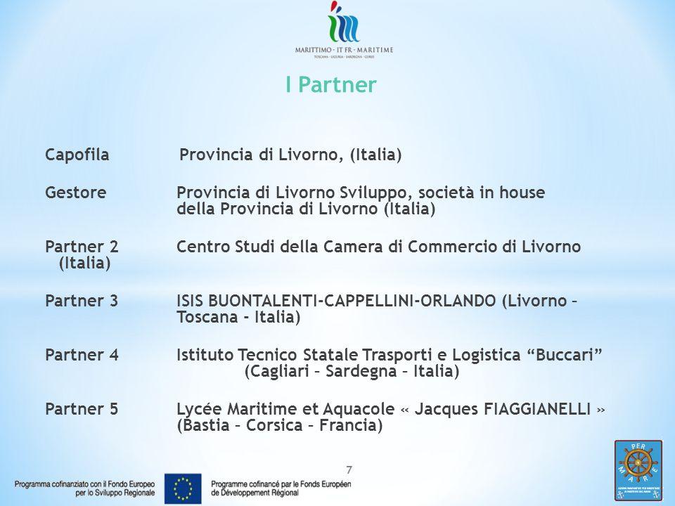 I Partner Capofila Provincia di Livorno, (Italia)