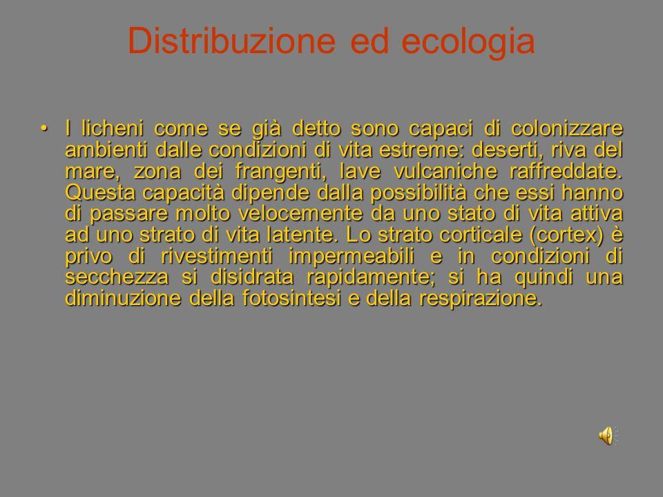 Distribuzione ed ecologia
