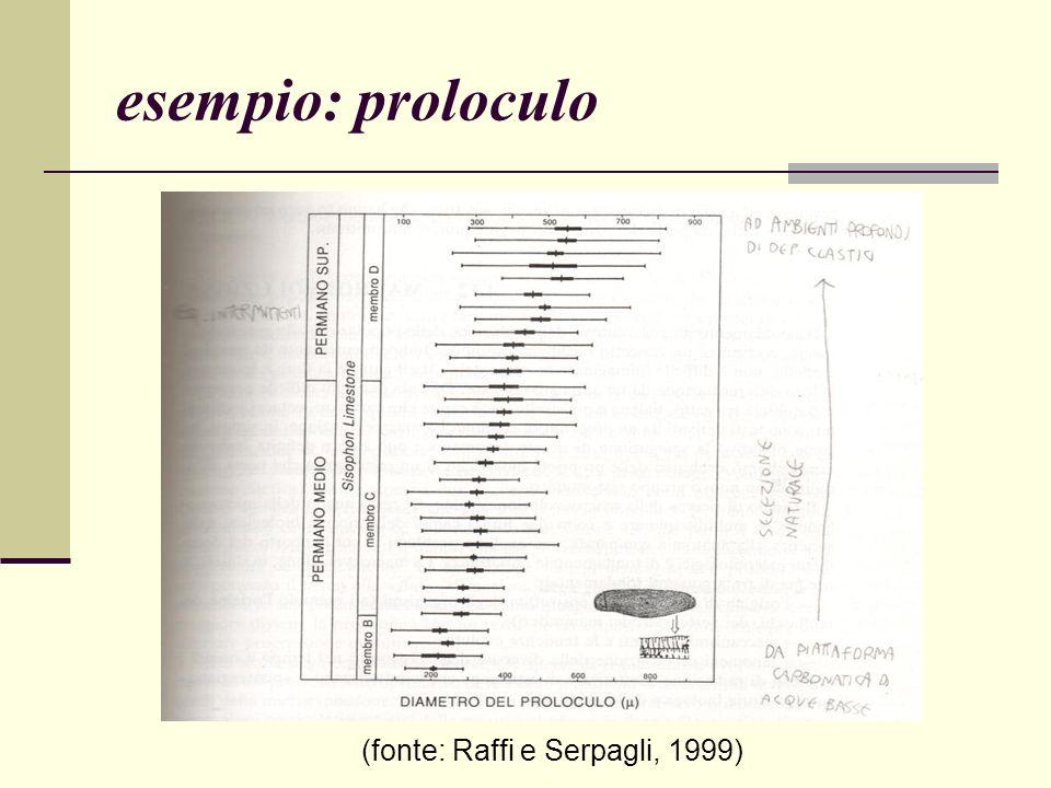 (fonte: Raffi e Serpagli, 1999)