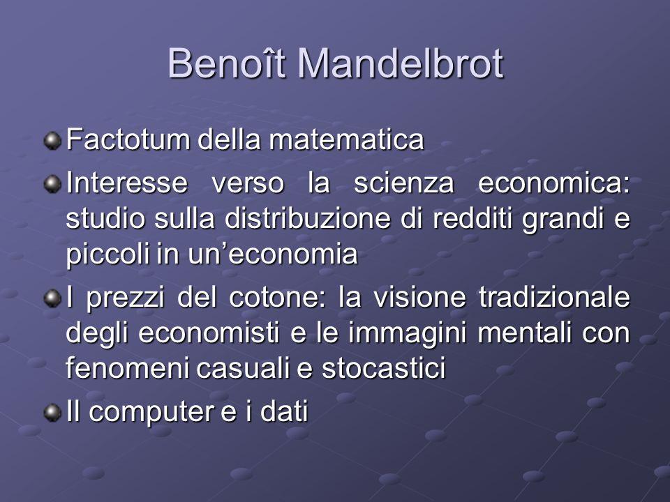 Benoît Mandelbrot Factotum della matematica