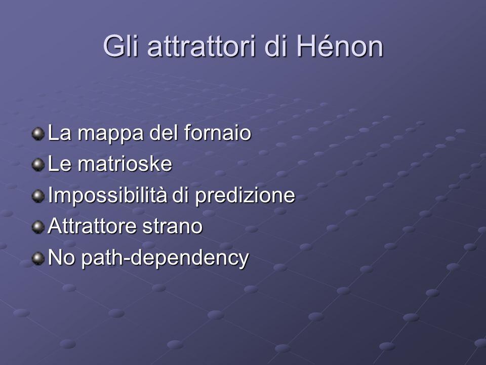 Gli attrattori di Hénon