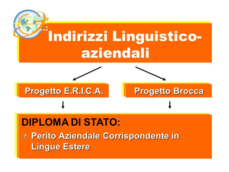 Indirizzi Linguistico-aziendali
