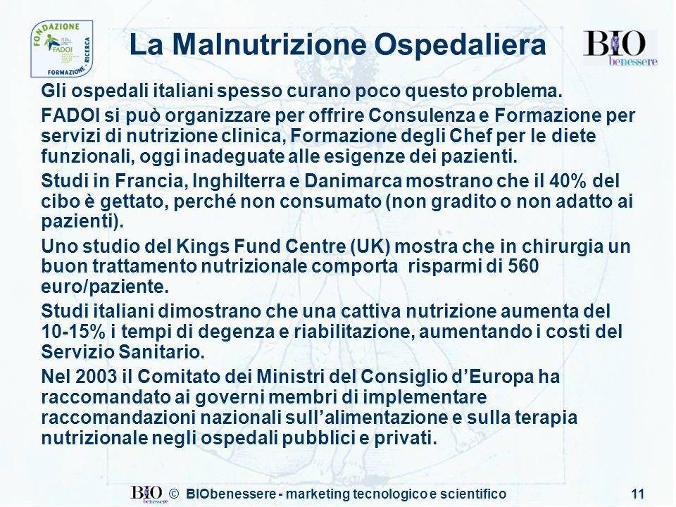 La Malnutrizione Ospedaliera