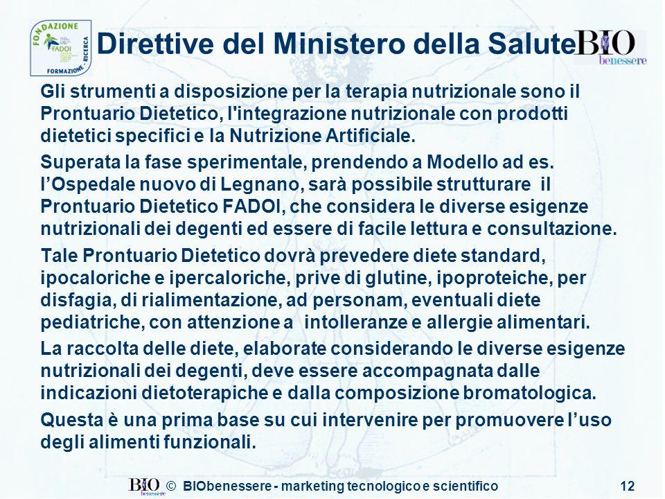 Direttive del Ministero della Salute