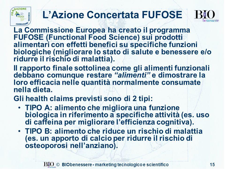 L'Azione Concertata FUFOSE