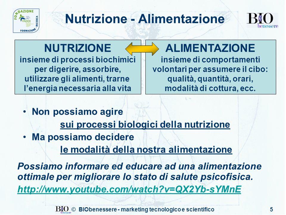 Nutrizione - Alimentazione