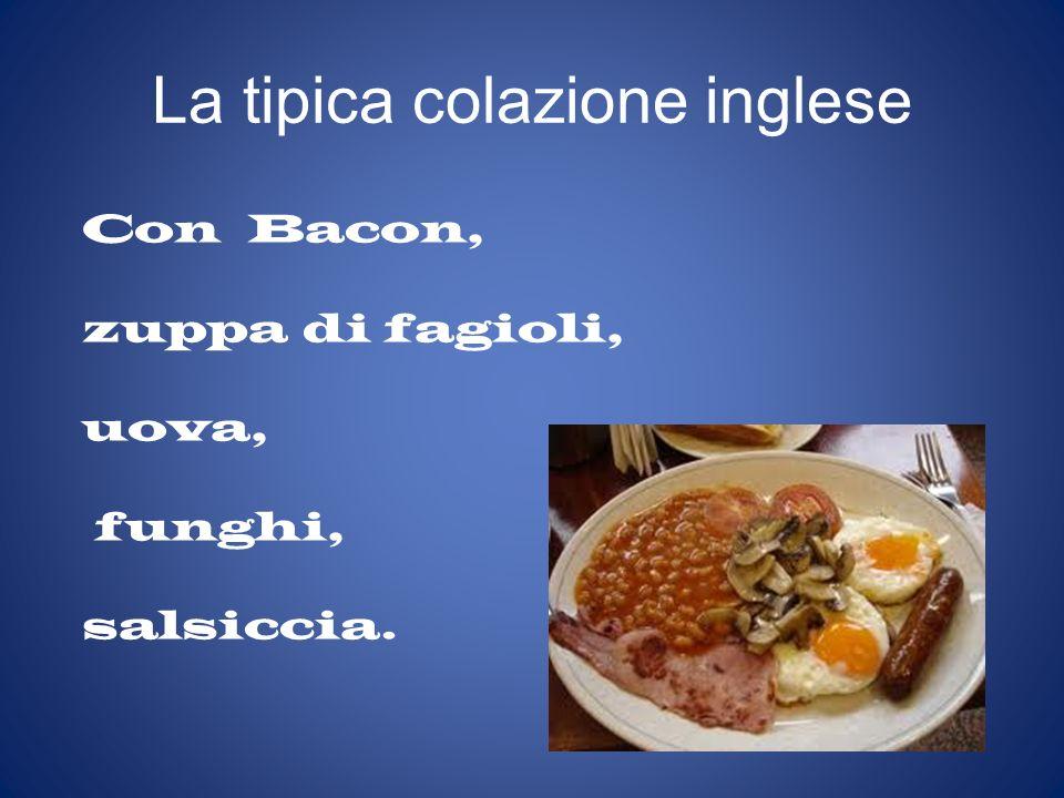 La tipica colazione inglese