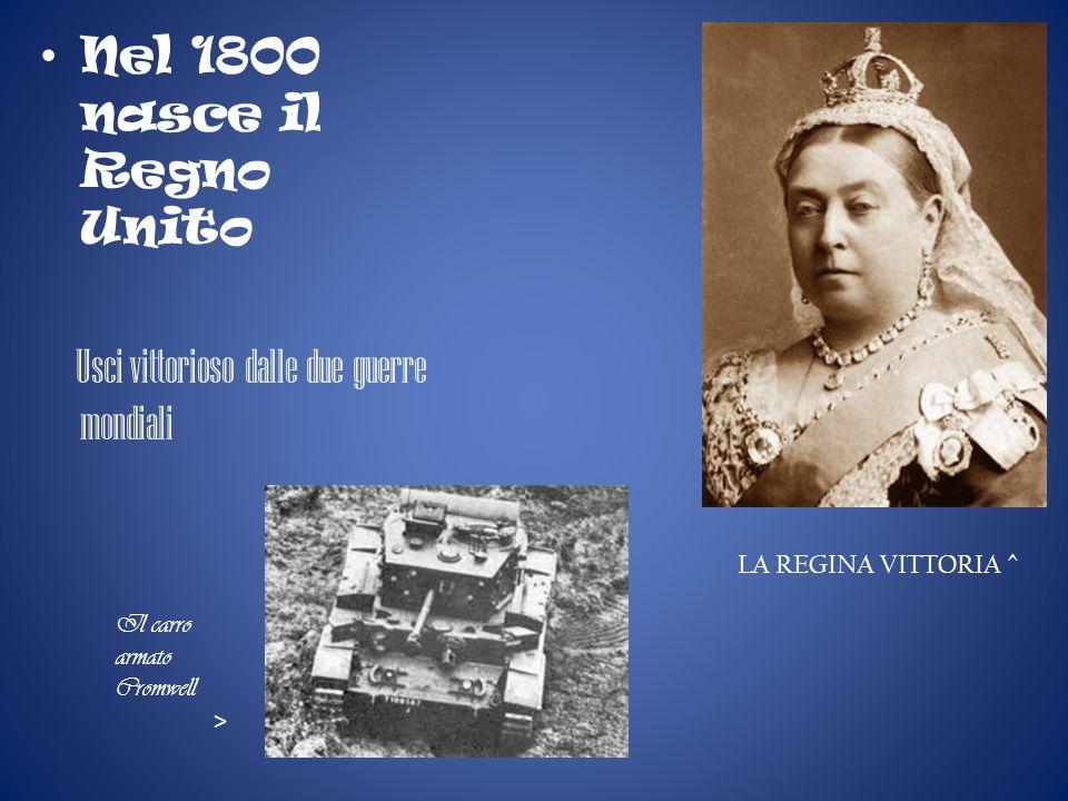 Nel 1800 nasce il Regno Unito