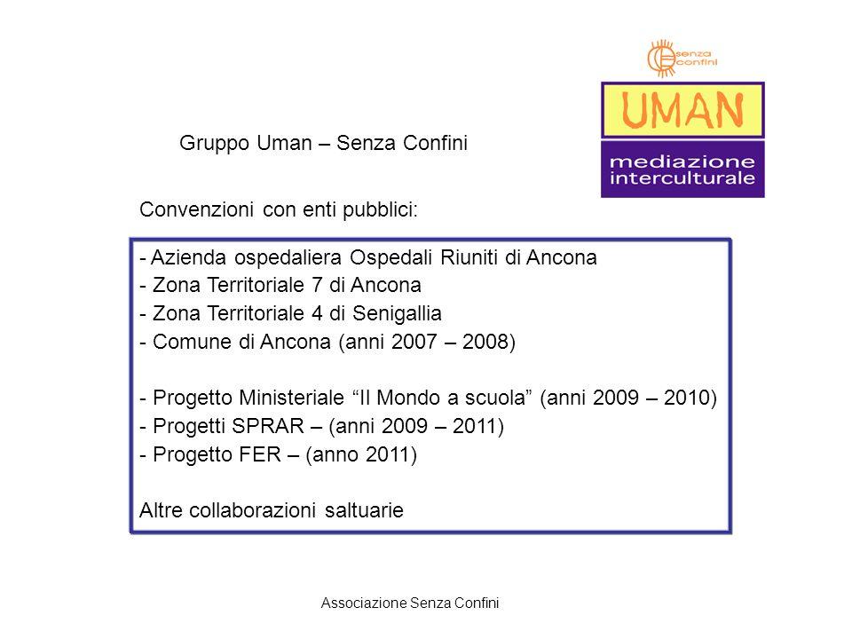 Gruppo Uman – Senza Confini