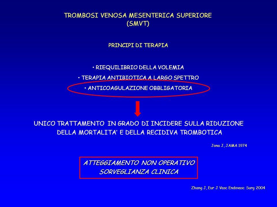 TROMBOSI VENOSA MESENTERICA SUPERIORE (SMVT)