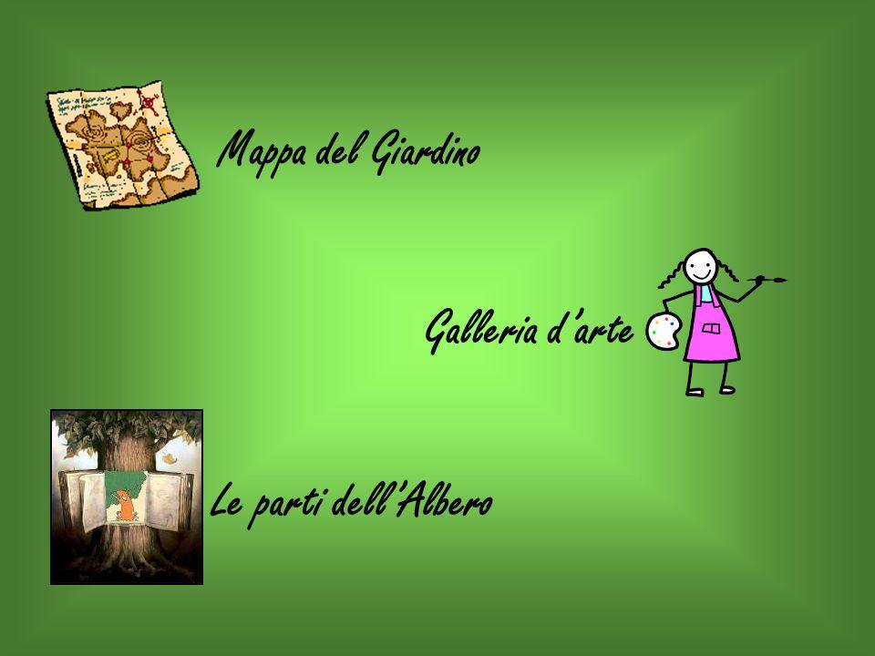 Mappa del Giardino Galleria d'arte Le parti dell'Albero