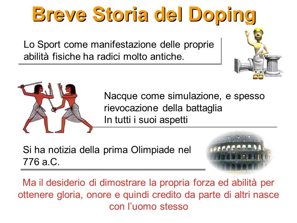 Breve Storia del Doping