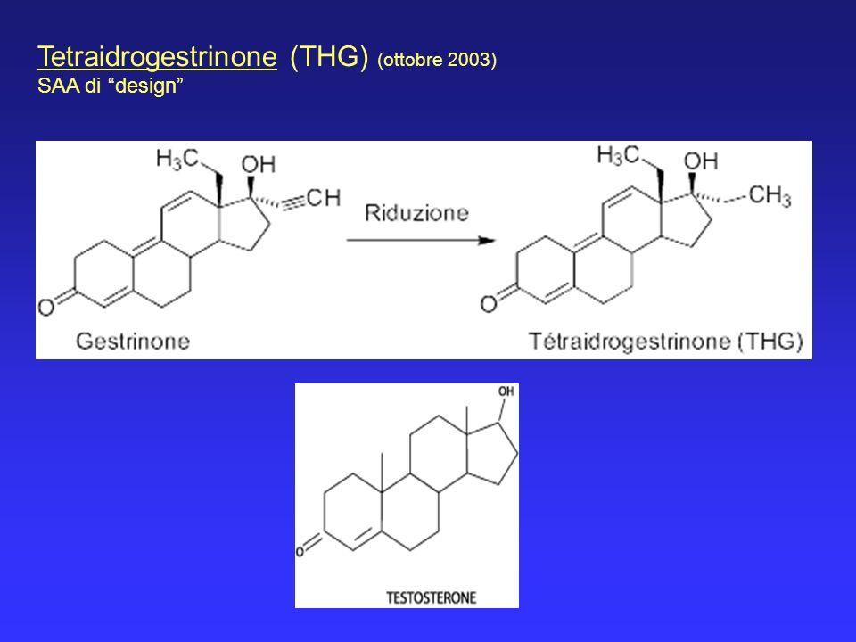 Tetraidrogestrinone (THG) (ottobre 2003)