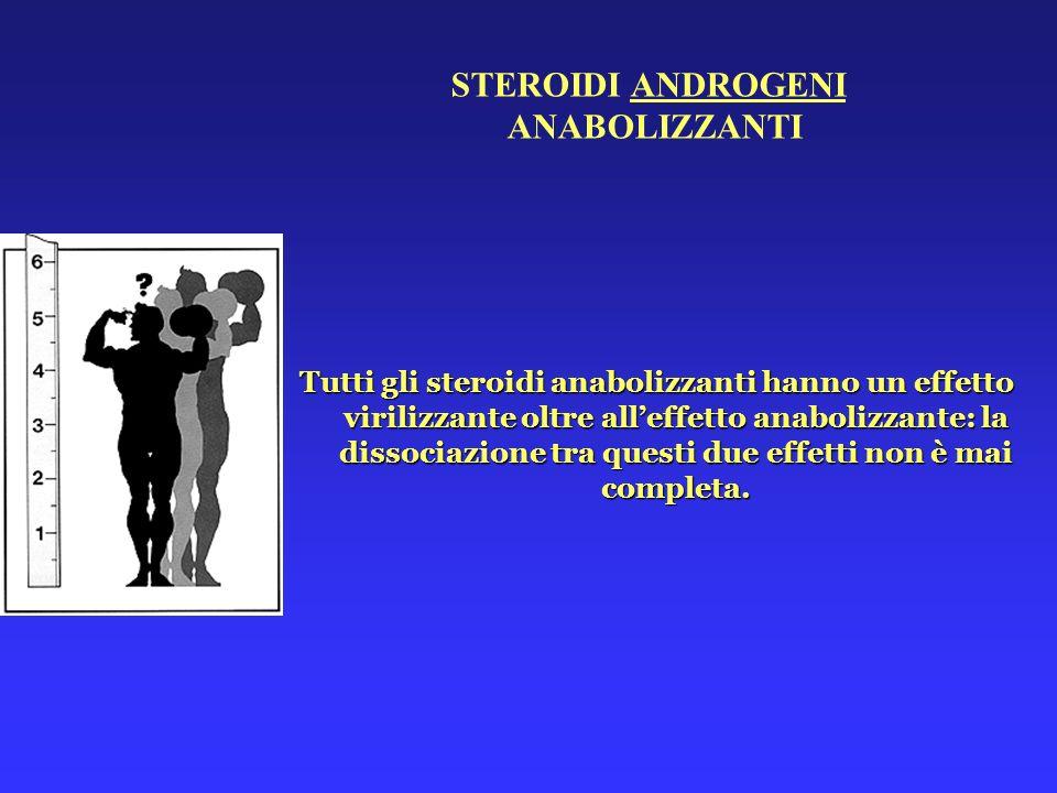 STEROIDI ANDROGENI ANABOLIZZANTI