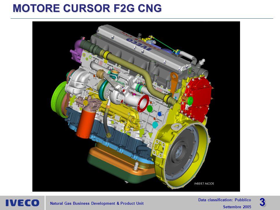 MOTORE CURSOR F2G CNG