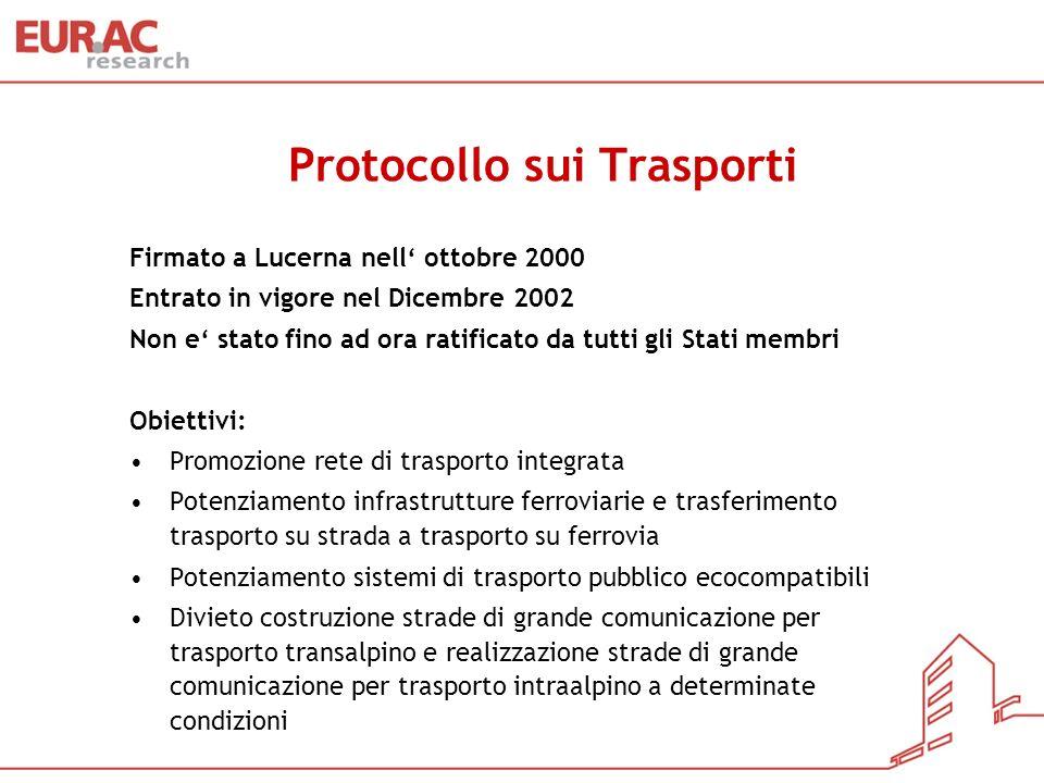 Protocollo sui Trasporti