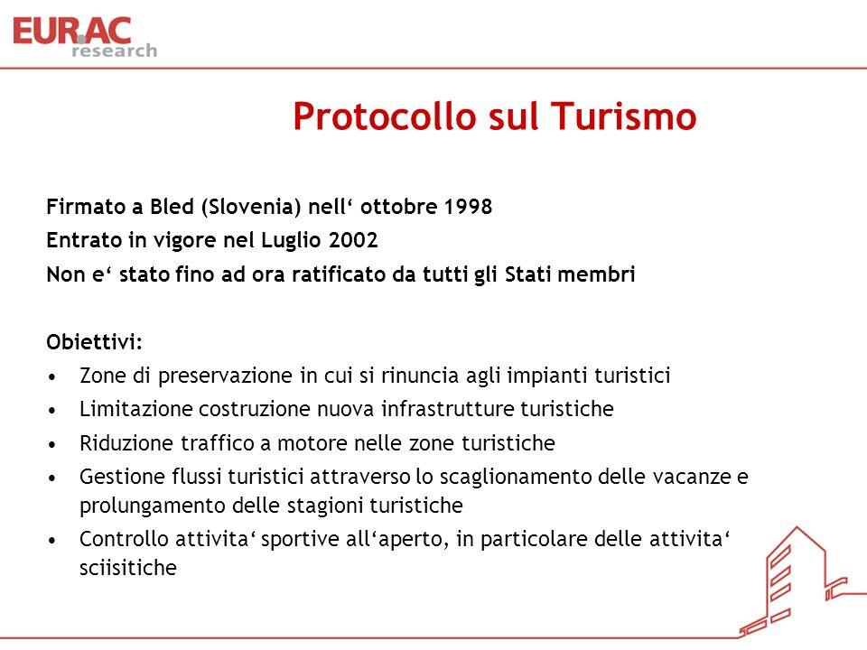 Protocollo sul Turismo