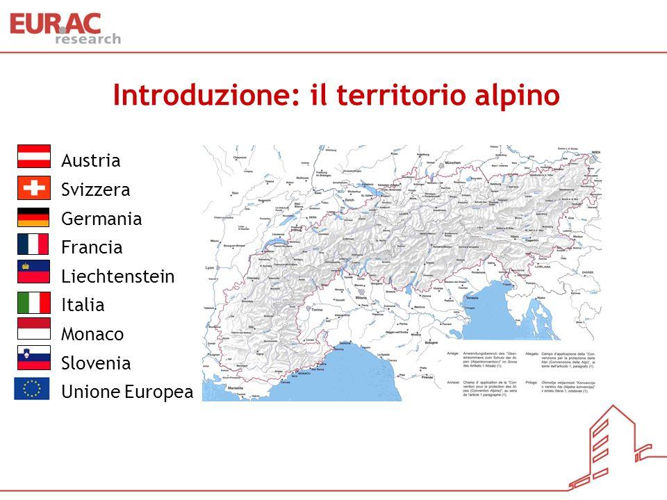 Introduzione: il territorio alpino