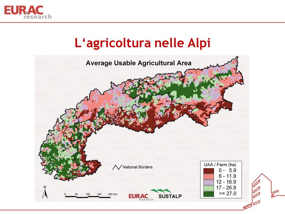 L'agricoltura nelle Alpi