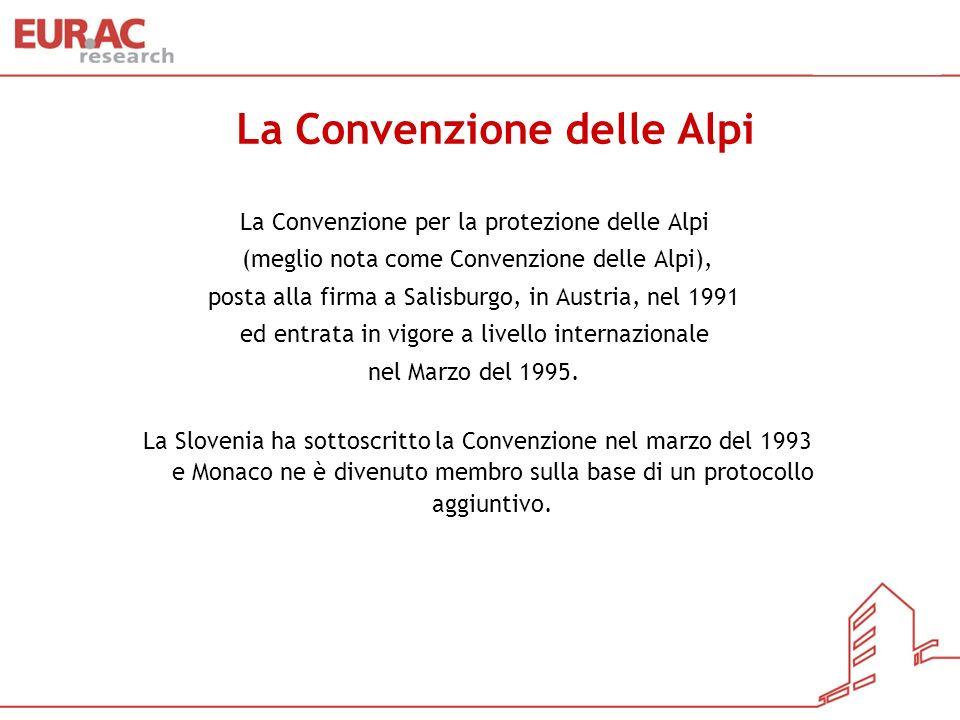 La Convenzione delle Alpi