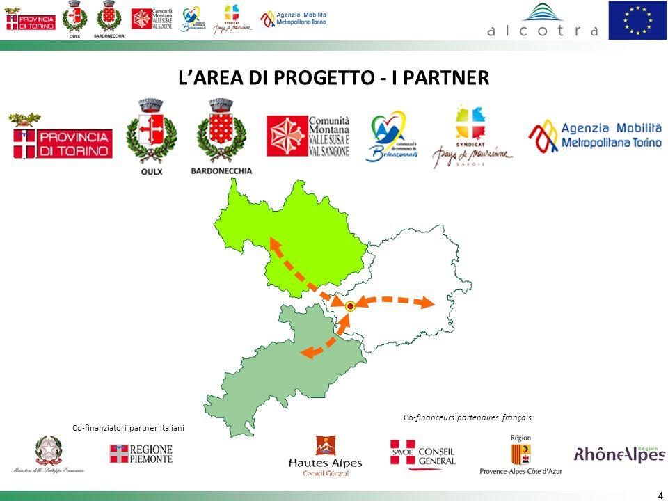 L'AREA DI PROGETTO - I PARTNER