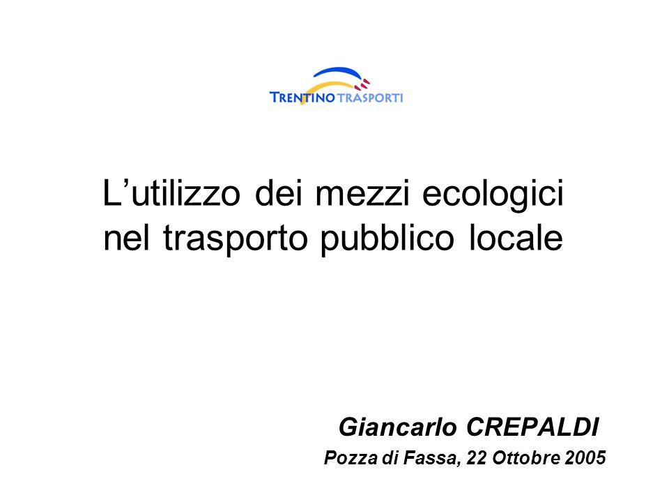L'utilizzo dei mezzi ecologici nel trasporto pubblico locale