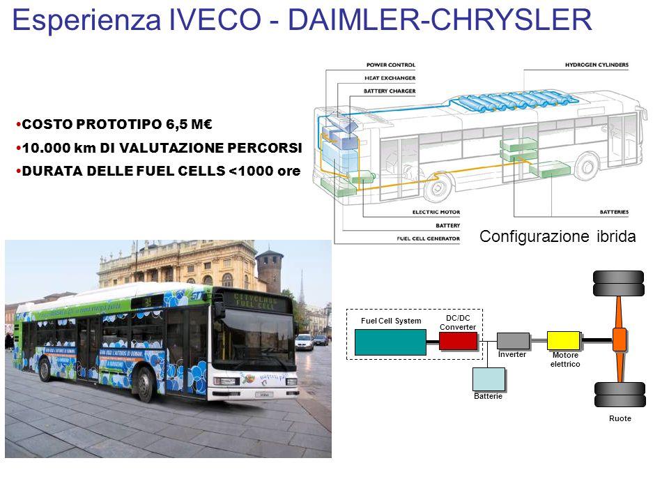 Esperienza IVECO - DAIMLER-CHRYSLER