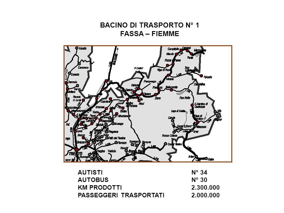 BACINO DI TRASPORTO N° 1 FASSA – FIEMME