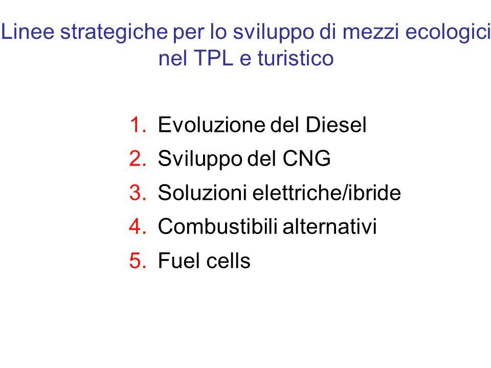 Linee strategiche per lo sviluppo di mezzi ecologici nel TPL e turistico