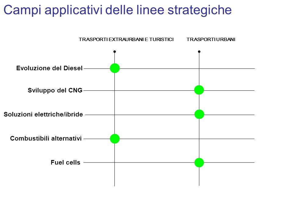 Campi applicativi delle linee strategiche