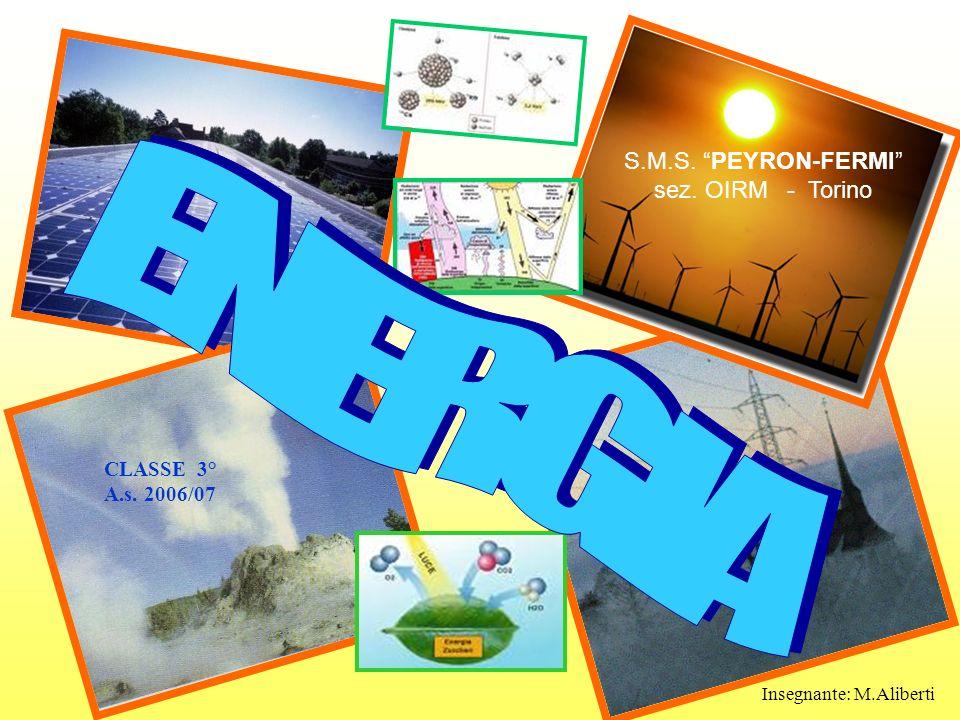 ENERGIA S.M.S. PEYRON-FERMI sez. OIRM - Torino