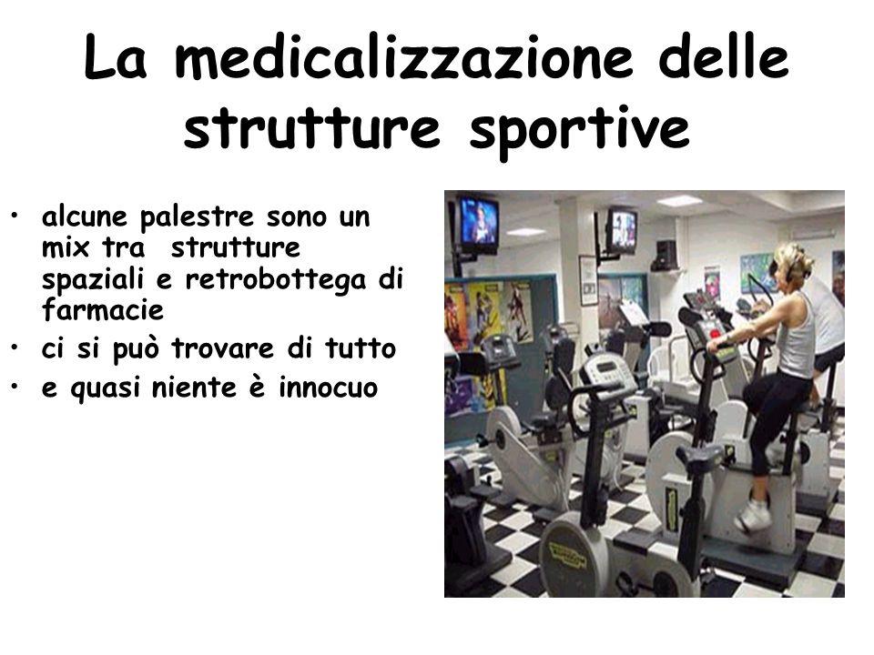 La medicalizzazione delle strutture sportive