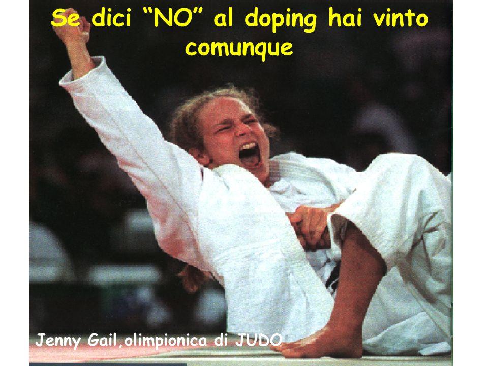 Se dici NO al doping hai vinto comunque