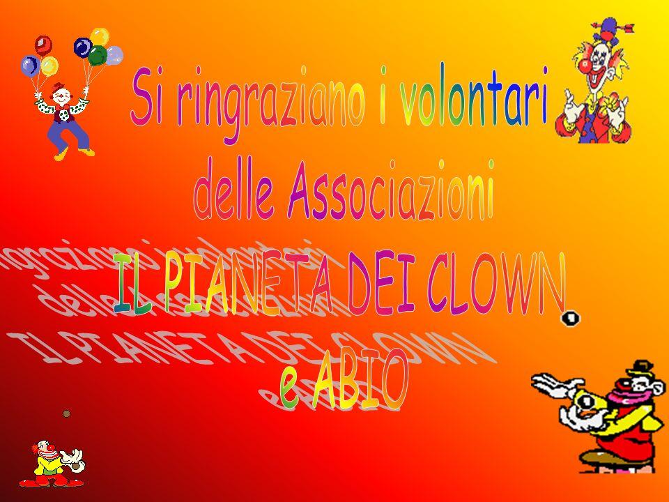 Si ringraziano i volontari