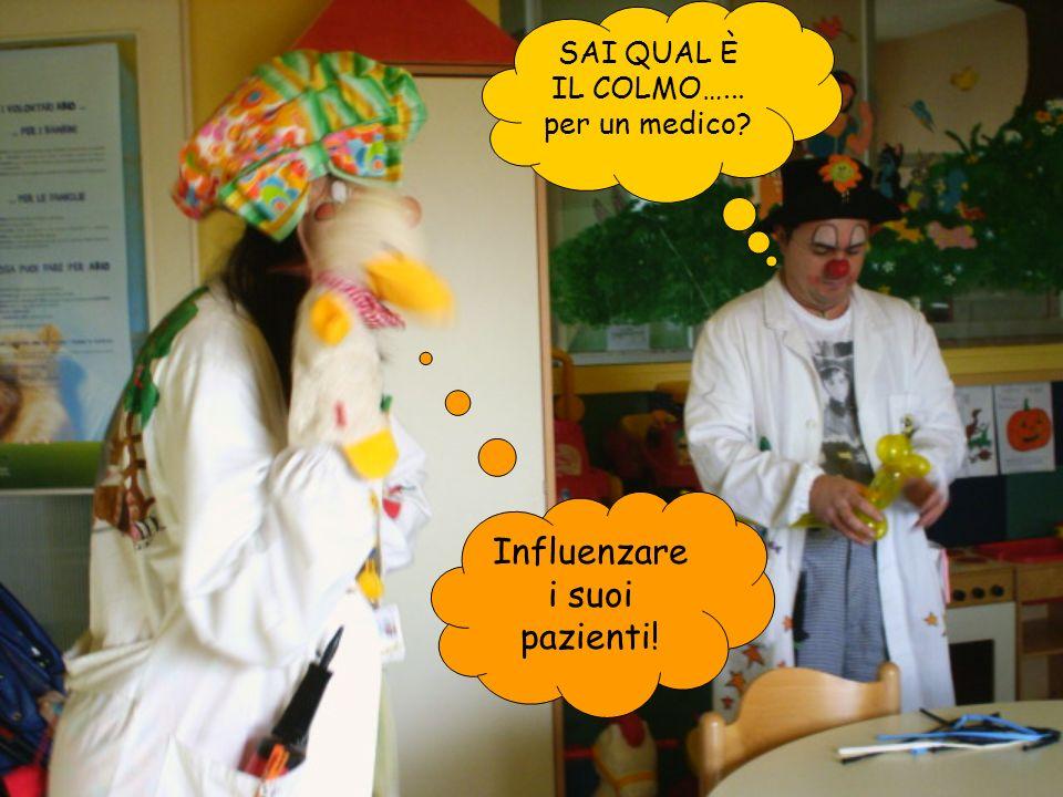Influenzare i suoi pazienti!