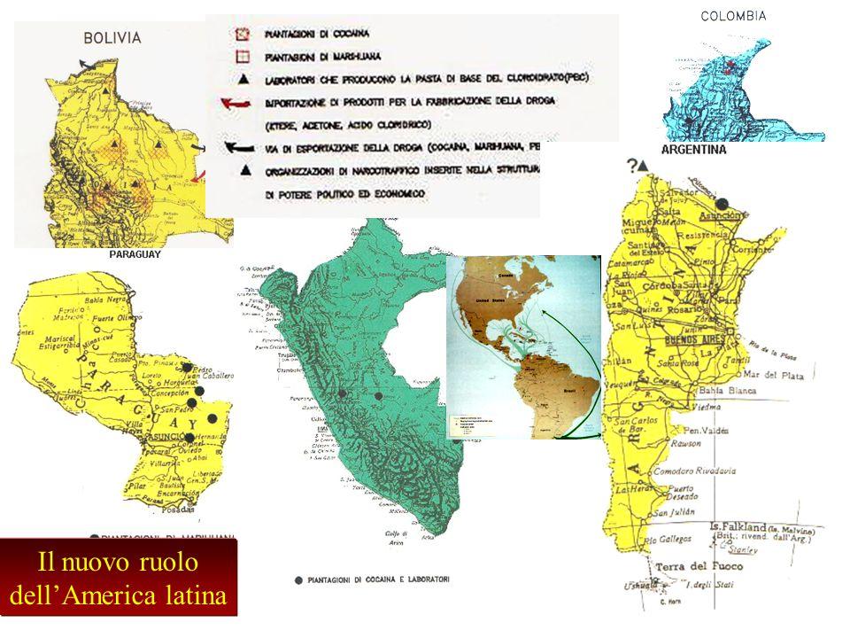 Il nuovo ruolo dell'America latina