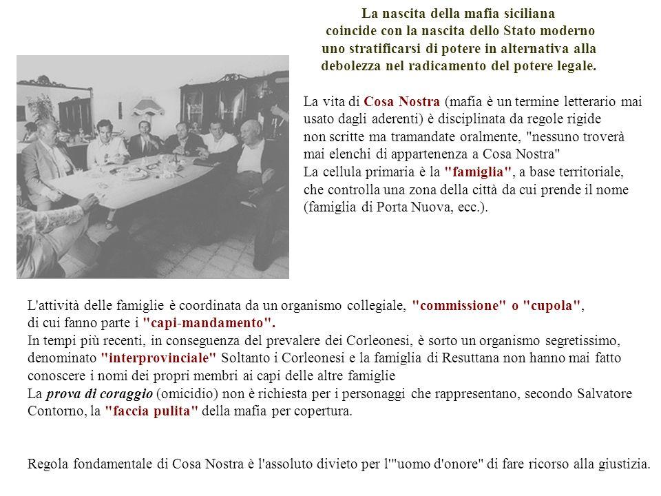 La nascita della mafia siciliana