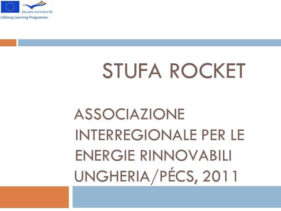 STUFA ROCKET ASSOCIAZIONE INTERREGIONALE PER LE ENERGIE RINNOVABILI