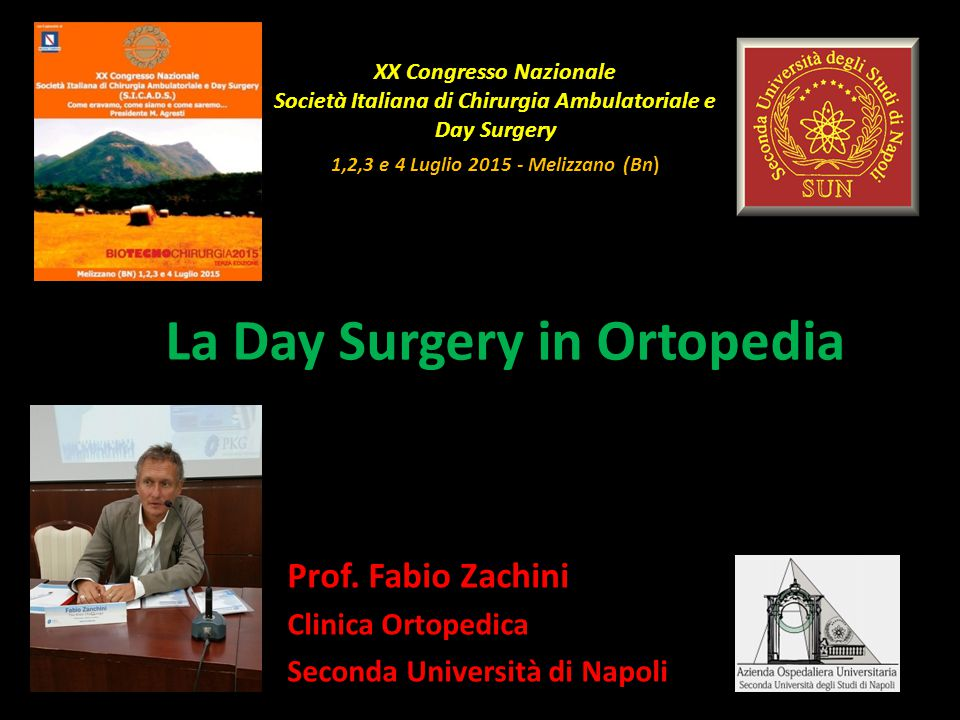 La Day Surgery in Ortopedia