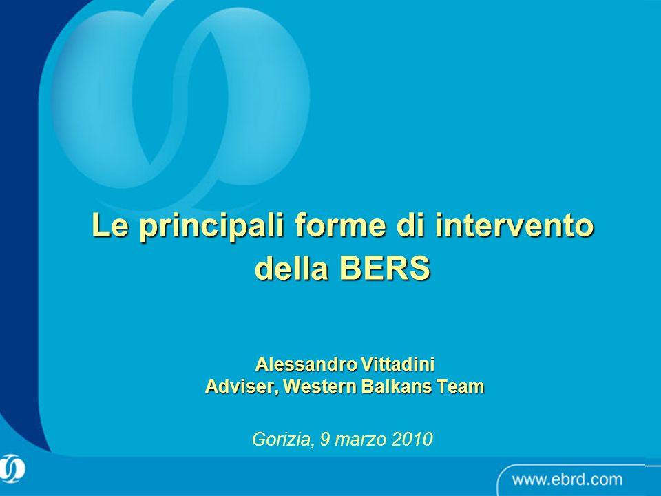Alessandro Vittadini Adviser, Western Balkans Team