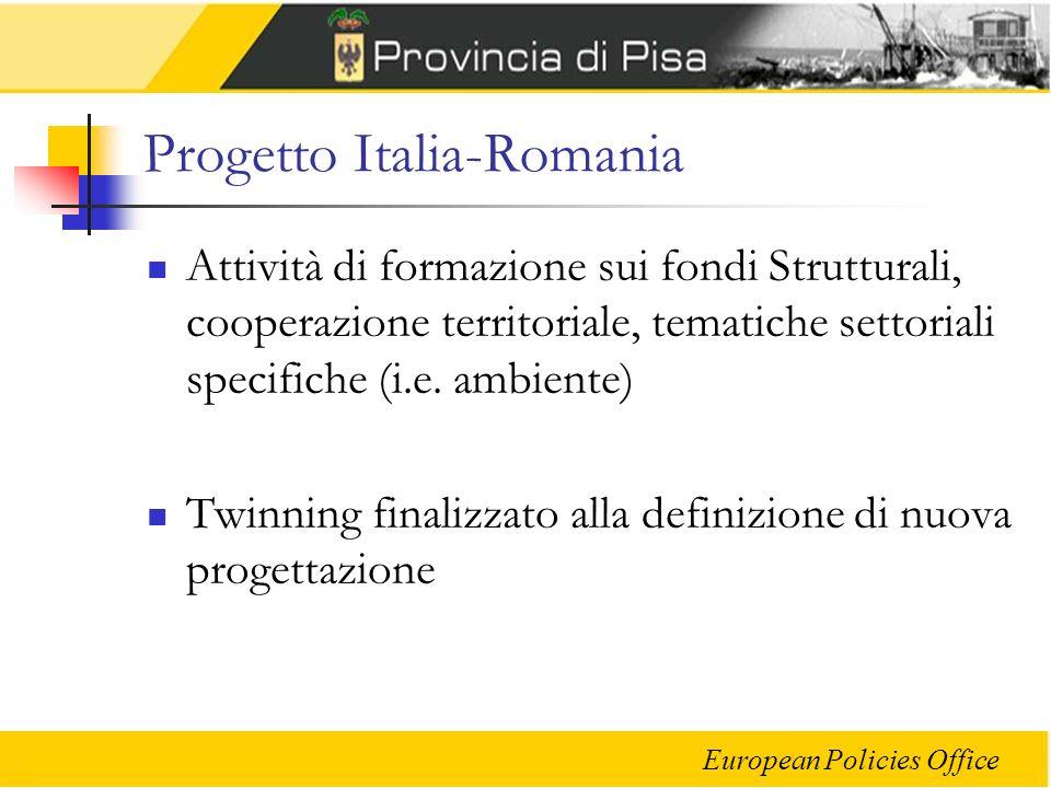 Progetto Italia-Romania