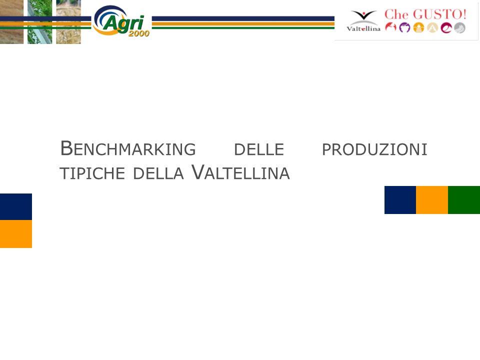 Benchmarking delle produzioni tipiche della Valtellina
